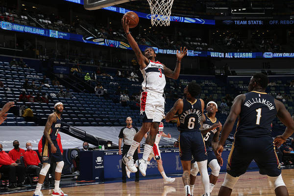 Smoothie King Center Art Print featuring the photograph Bradley Beal by Layne Murdoch Jr.