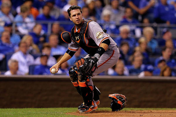 Buster Posey Art Print featuring the photograph Buster Posey by Elsa