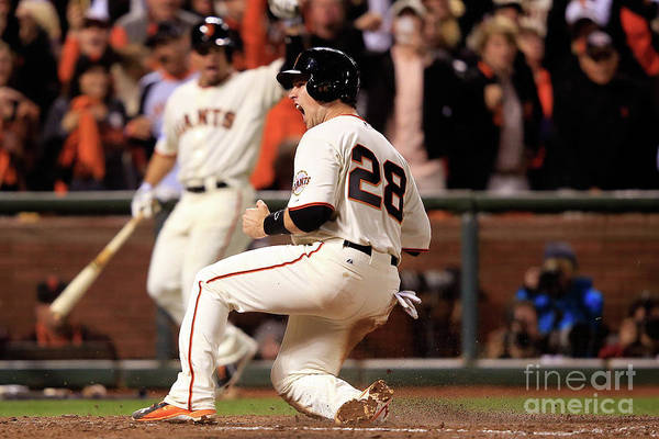 San Francisco Art Print featuring the photograph Buster Posey by Jamie Squire