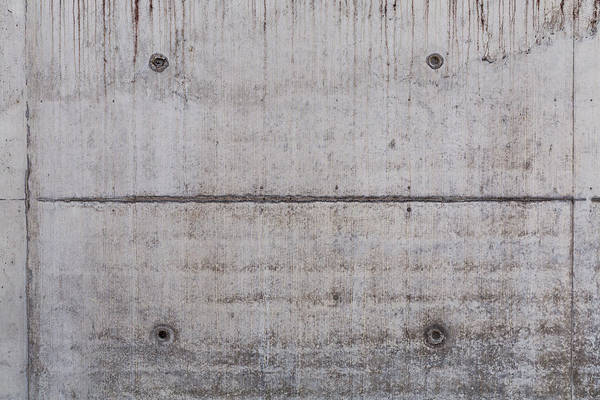 Material Art Print featuring the photograph Concrete Wall Background by R.Tsubin