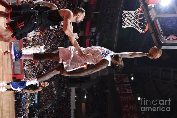 Nba Pro Basketball Art Print featuring the photograph Deandre Jordan by Bill Baptist