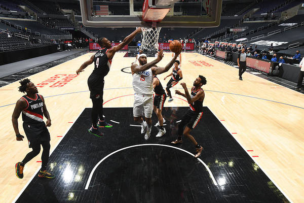 Nba Pro Basketball Art Print featuring the photograph Demarcus Cousins by Adam Pantozzi