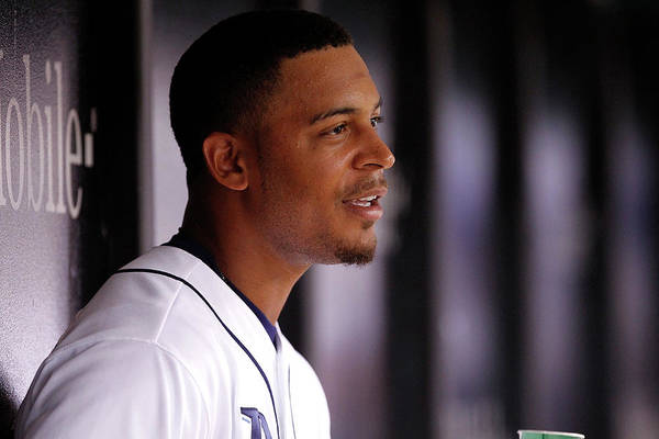 Second Inning Art Print featuring the photograph Desmond Jennings by Brian Blanco