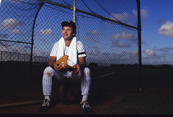 1980-1989 Art Print featuring the photograph Don Mattingly by Ronald C. Modra/sports Imagery