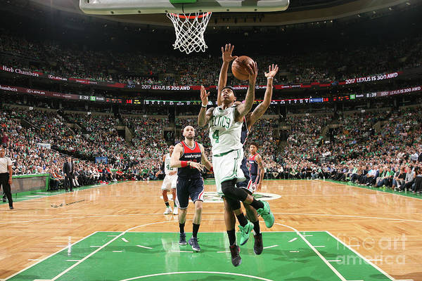 Playoffs Art Print featuring the photograph Isaiah Thomas by Ned Dishman