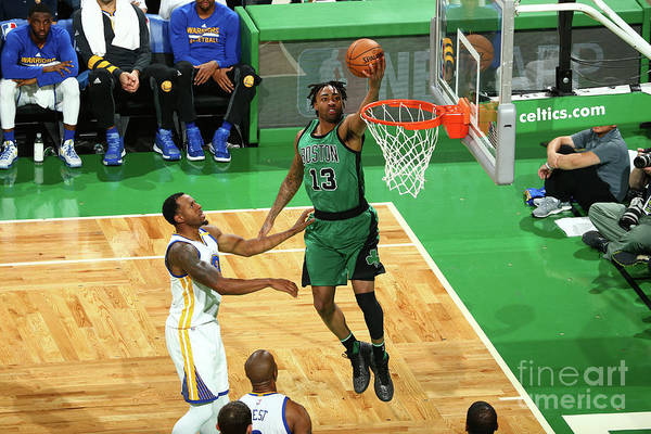 Nba Pro Basketball Art Print featuring the photograph James Young by Nathaniel S. Butler