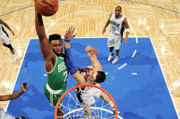 Nba Pro Basketball Art Print featuring the photograph Jaylen Brown by Fernando Medina