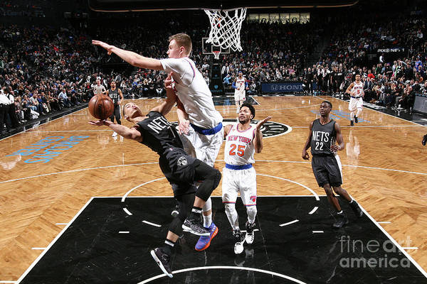 Nba Pro Basketball Art Print featuring the photograph Jeremy Lin by Nathaniel S. Butler