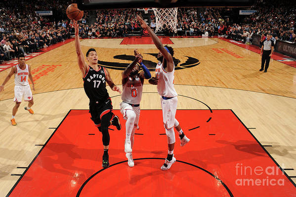 Nba Pro Basketball Art Print featuring the photograph Jeremy Lin by Ron Turenne