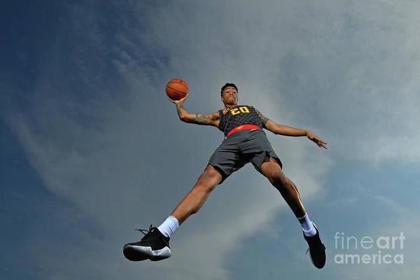 Nba Pro Basketball Art Print featuring the photograph John Collins by Jesse D. Garrabrant