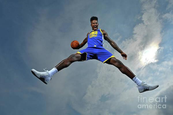 Nba Pro Basketball Art Print featuring the photograph Jordan Bell by Jesse D. Garrabrant