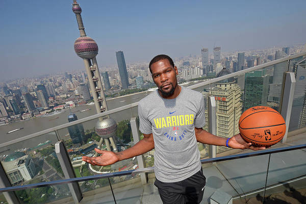 Event Art Print featuring the photograph Kevin Durant by David Dow