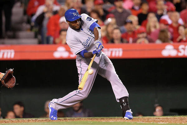 People Art Print featuring the photograph Lorenzo Cain by Stephen Dunn