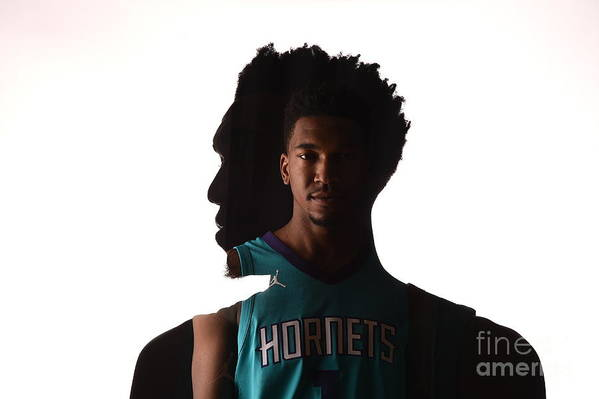 Nba Pro Basketball Art Print featuring the photograph Malik Monk by Brian Babineau