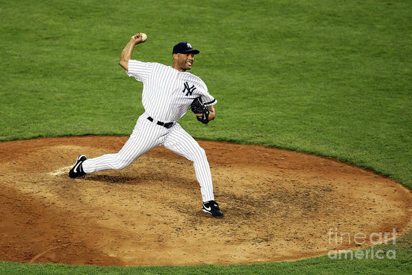 People Art Print featuring the photograph Mariano Rivera by Nick Laham