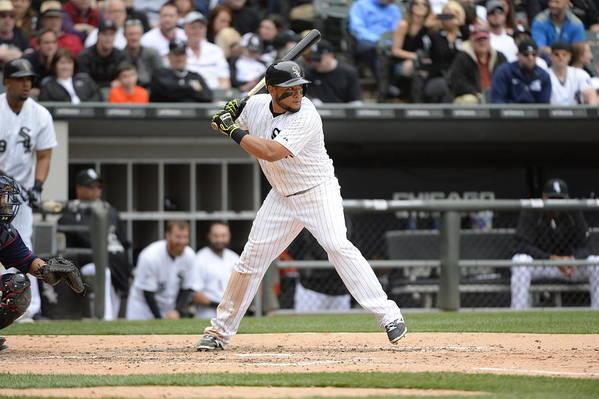 American League Baseball Art Print featuring the photograph Melky Cabrera by Ron Vesely