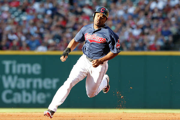 Michael Bourn Art Print featuring the photograph Michael Bourn by David Maxwell