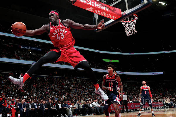 Nba Pro Basketball Art Print featuring the photograph Pascal Siakam by Ned Dishman
