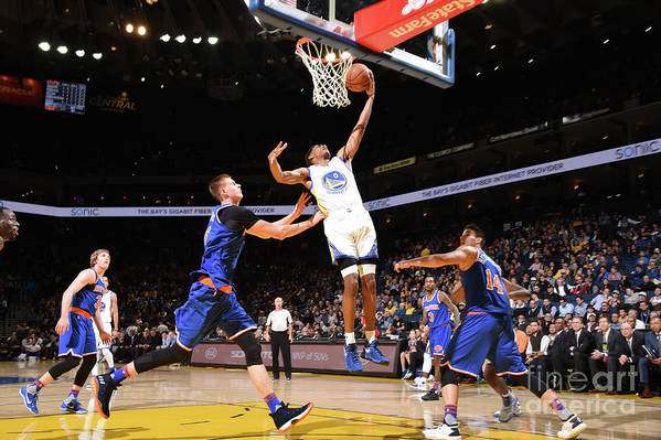 Nba Pro Basketball Art Print featuring the photograph Patrick Mccaw by Andrew D. Bernstein