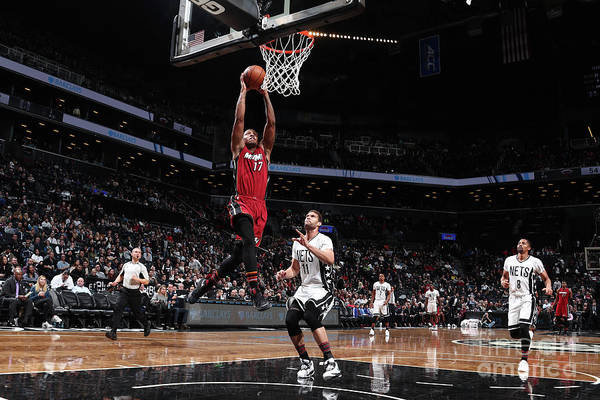 Nba Pro Basketball Art Print featuring the photograph Rodney Mcgruder by Nathaniel S. Butler