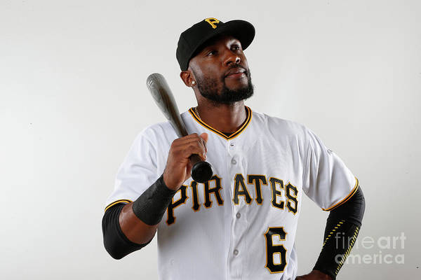 Media Day Art Print featuring the photograph Starling Marte by Brian Blanco
