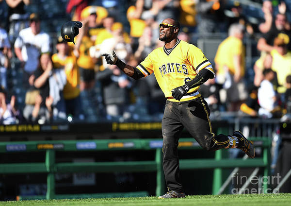 People Art Print featuring the photograph Starling Marte by Joe Sargent