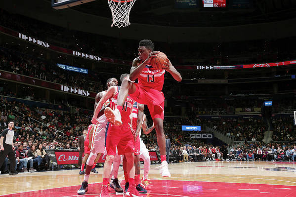 Nba Pro Basketball Art Print featuring the photograph Thomas Bryant by Ned Dishman
