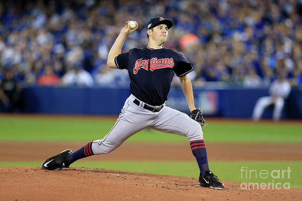 People Art Print featuring the photograph Trevor Bauer by Vaughn Ridley