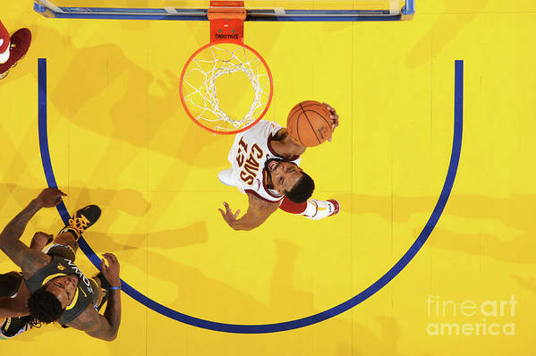 Playoffs Art Print featuring the photograph Tristan Thompson by Andrew D. Bernstein