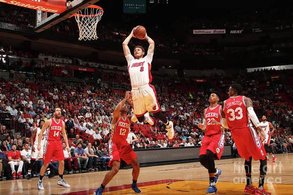 Nba Pro Basketball Art Print featuring the photograph Tyler Johnson by Issac Baldizon
