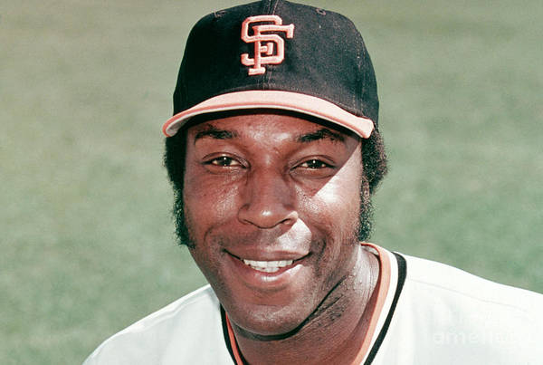 People Art Print featuring the photograph Willie Mccovey by Mlb Photos