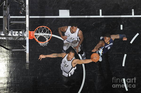 Playoffs Art Print featuring the photograph Kawhi Leonard by Mark Sobhani