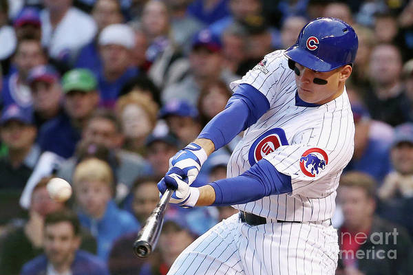Three Quarter Length Art Print featuring the photograph Anthony Rizzo by Jonathan Daniel