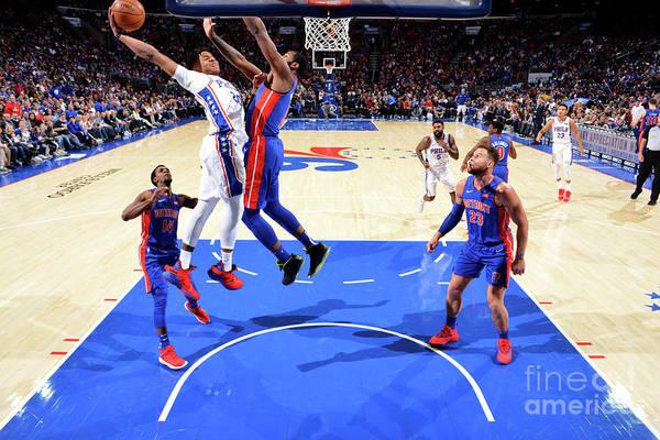 Nba Pro Basketball Art Print featuring the photograph Markelle Fultz by Jesse D. Garrabrant