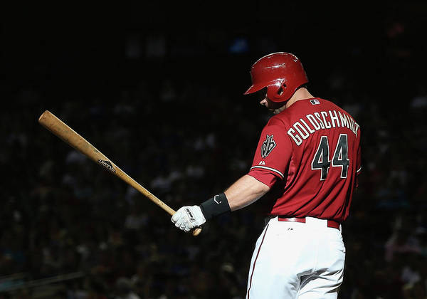 National League Baseball Art Print featuring the photograph Paul Goldschmidt by Christian Petersen