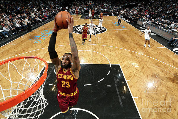 Nba Pro Basketball Art Print featuring the photograph Lebron James by Nathaniel S. Butler