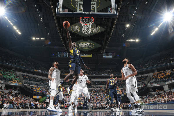 Nba Pro Basketball Art Print featuring the photograph Victor Oladipo by Ron Hoskins