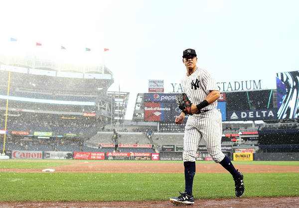 People Art Print featuring the photograph Aaron Judge by Elsa