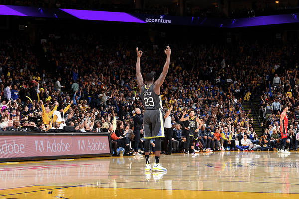 Nba Pro Basketball Art Print featuring the photograph Draymond Green by Noah Graham
