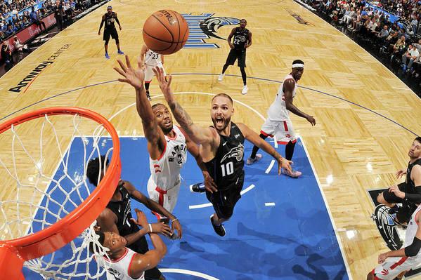 Nba Pro Basketball Art Print featuring the photograph Evan Fournier by Fernando Medina