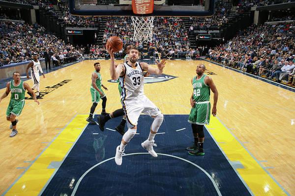 Nba Pro Basketball Art Print featuring the photograph Marc Gasol by Joe Murphy