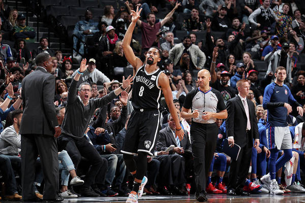 Nba Pro Basketball Art Print featuring the photograph Spencer Dinwiddie by Nathaniel S. Butler