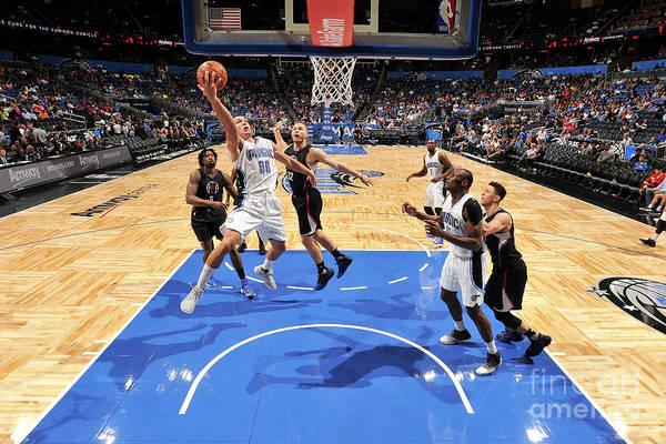 Nba Pro Basketball Art Print featuring the photograph Aaron Gordon by Fernando Medina