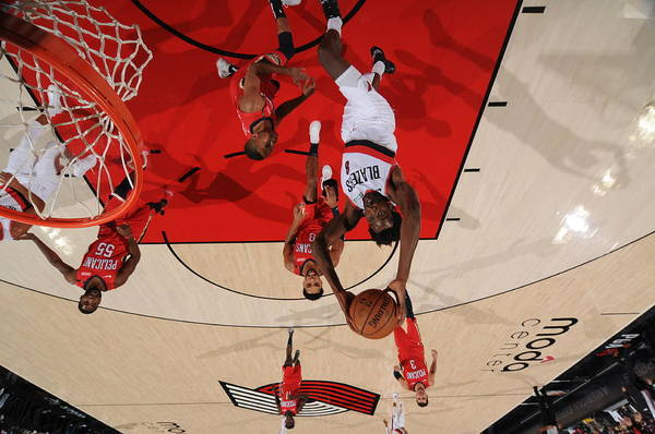 Nba Pro Basketball Art Print featuring the photograph Al-farouq Aminu by Cameron Browne