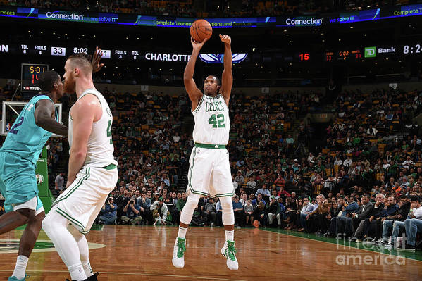 Nba Pro Basketball Art Print featuring the photograph Al Horford by Brian Babineau