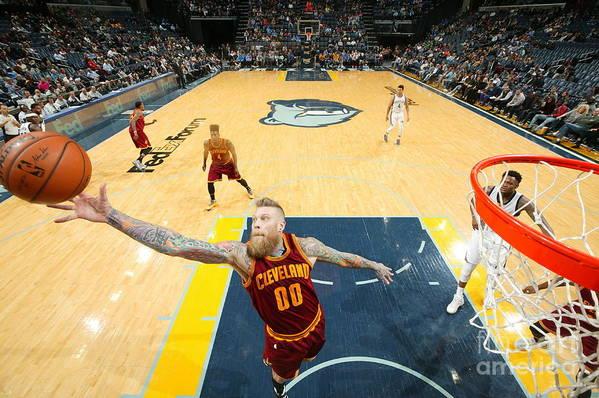 Nba Pro Basketball Art Print featuring the photograph Chris Andersen by Joe Murphy