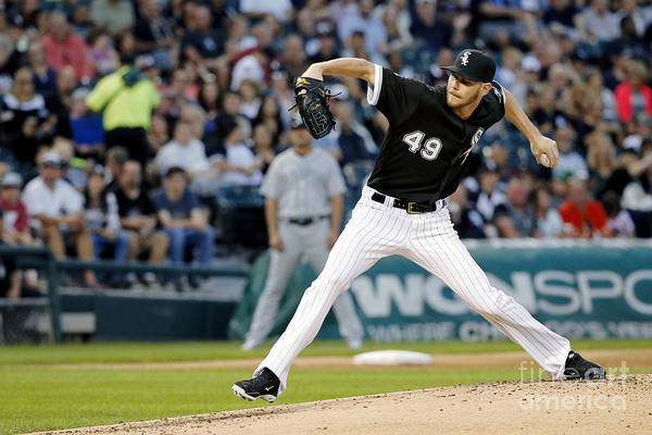 Second Inning Art Print featuring the photograph Chris Sale by Jon Durr