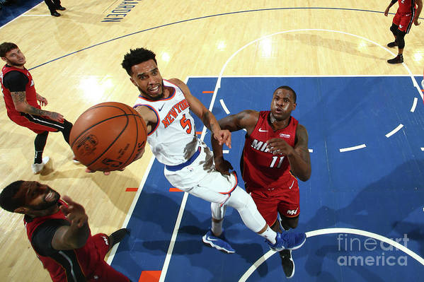 Nba Pro Basketball Art Print featuring the photograph Courtney Lee by Nathaniel S. Butler