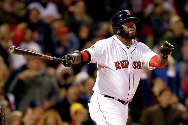 Second Inning Art Print featuring the photograph David Ortiz by Elsa