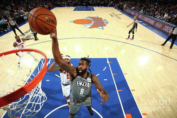 Nba Pro Basketball Art Print featuring the photograph Deandre Jordan by Nathaniel S. Butler